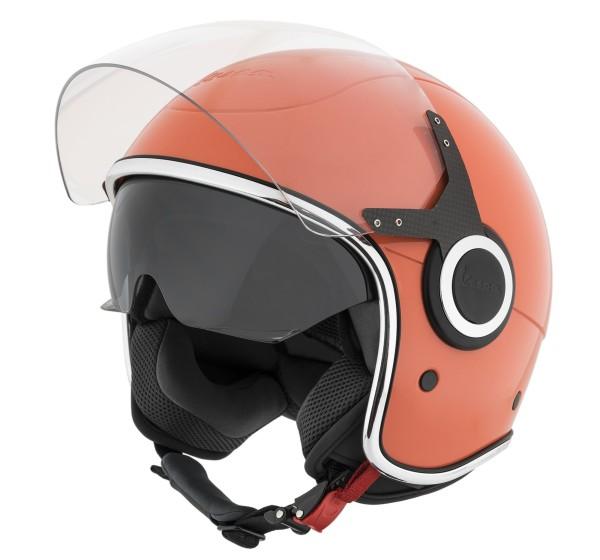 Vespa Helm Demi Jet VJ - roze coral