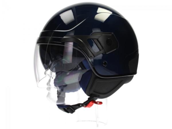 Piaggio PJ Jet helm blauw