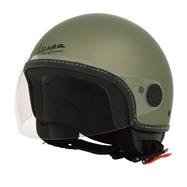Vespa Helm Demi Jet Sei Giorni - groen