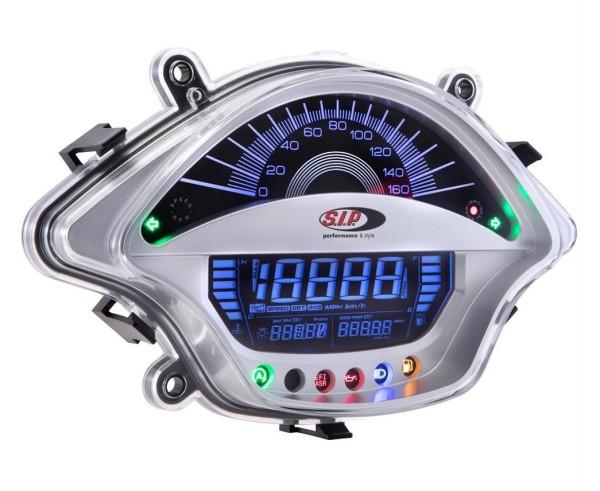 Toerenteller/Tacho voor Vespa GTS/GTS Super 300ccm FL ('14-), zilver