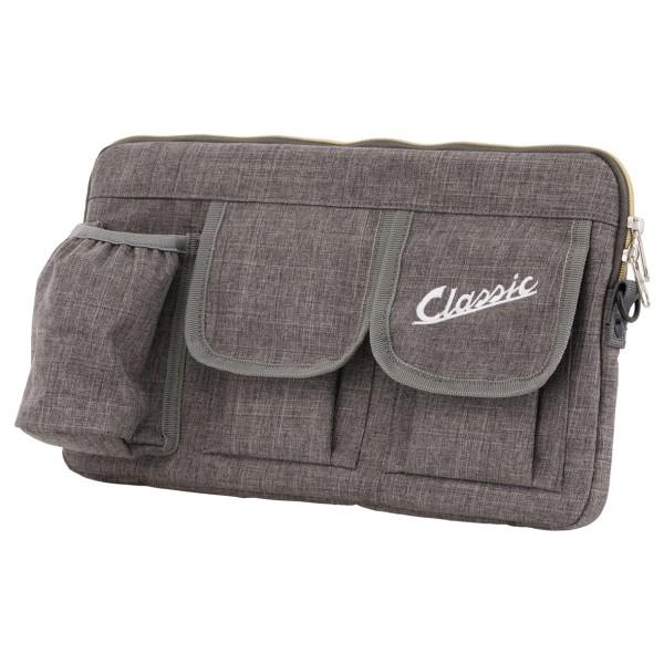 """Tas """"Classic"""" voor bagageruimte / handschoenenkastje Vespa - grijs, nylon"""