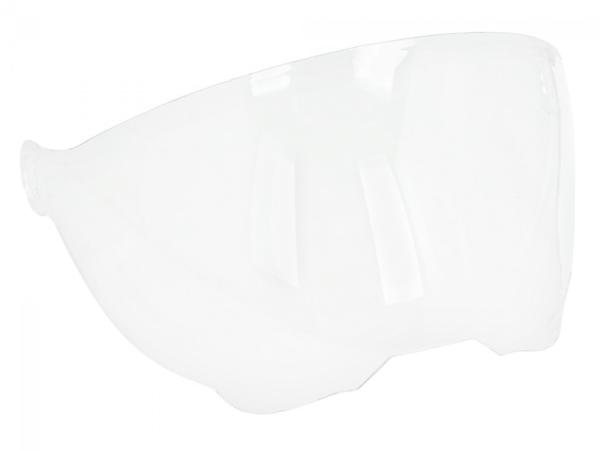 Vizier voor Piaggio P-Style Jet helm, transparant