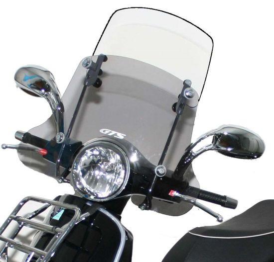 "Windscherm ""Twin-Screen"" voor Vespa GTS/GTS Super/GT/GT L 125-300ccm"