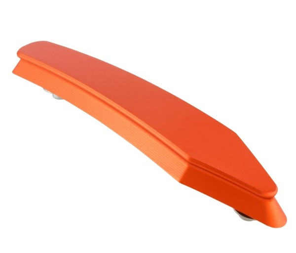 Sier stuk voorspatbord voor Vespa GTS/GTS Super/GT/GT L 125-300ccm, oranje mat