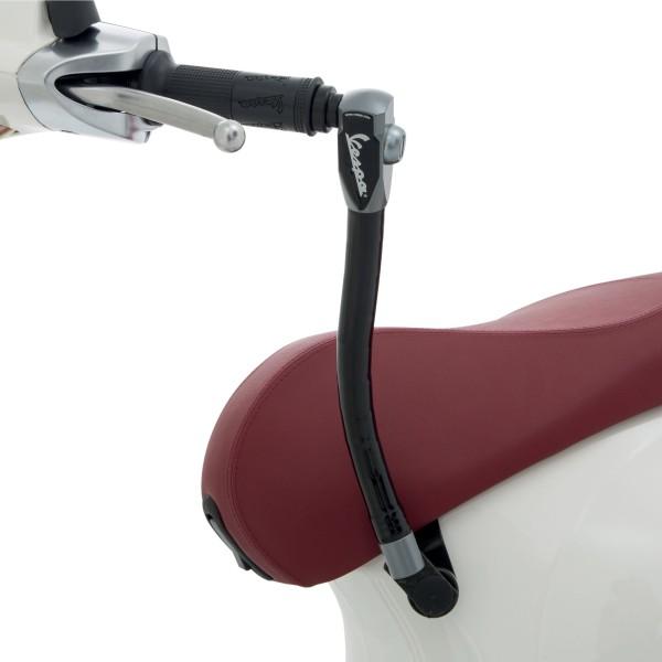 Original diefstalbeveiliging (zadel - stuur) versterkt voor Vespa Primavera / Sprint / Elettrica