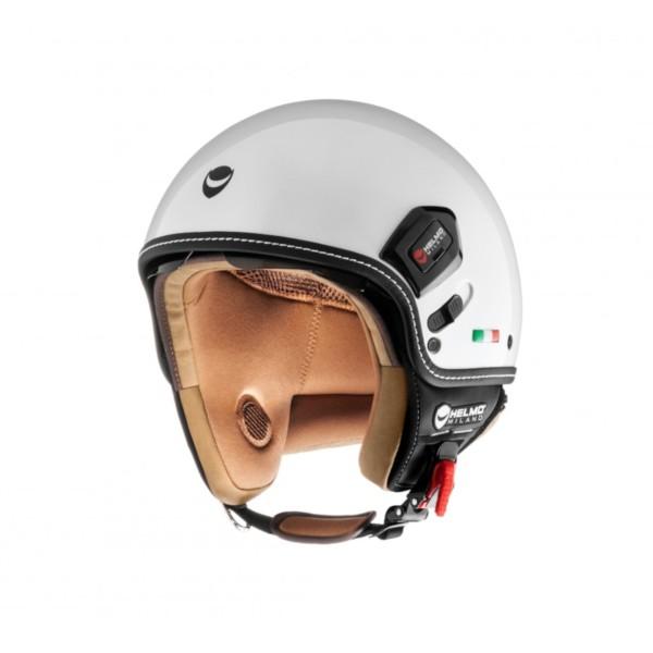 Helmo Milano Demi Jet, Puro Premium, wit, glanzend