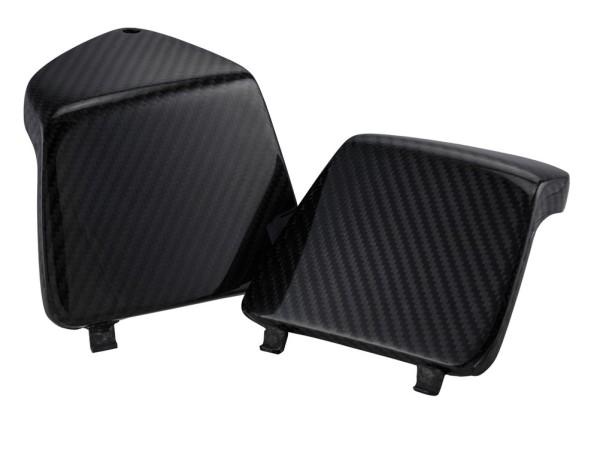 Bagagevakkap links/rechts voor Vespa GTS/GTS Super/GTV/GT 125-300ccm, carbon