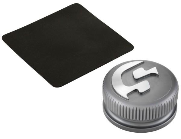 Tankdop voor Vespa, grijs mat