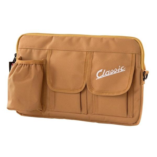 """Tas """"Classic"""" voor bagageruimte / handschoenenkastje Vespa - zwart, nylon"""
