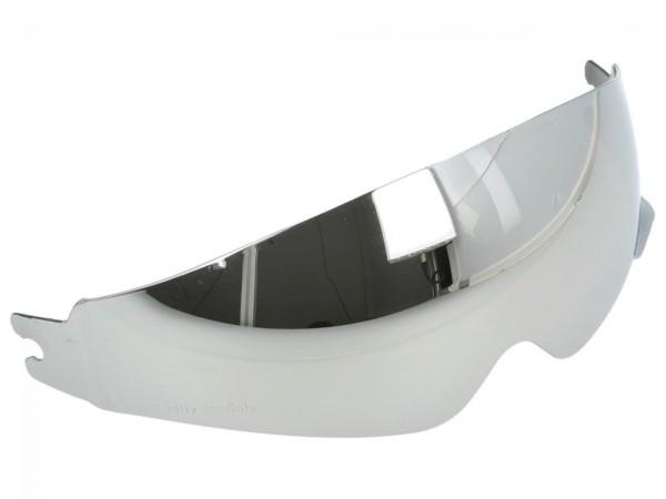 Helmo Milano binnenvizier, gespiegeld, krasbestendig, anti-condens, alle modellen met interne vleugel